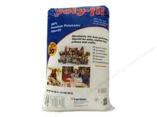 Fairfield Fairfield Poly Fil Nu Foam: Fairfield Fiber Poly Fil Bag 20oz