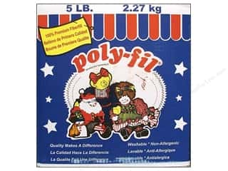 Fairfield Fairfield Poly Fil Nu Foam: Fairfield Fiber Poly Fil Box 5lb