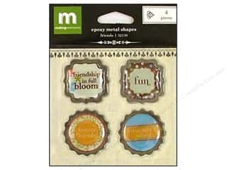 Making Memories Projects & Kits: Making Memories Metal Shapes Epoxy Friends