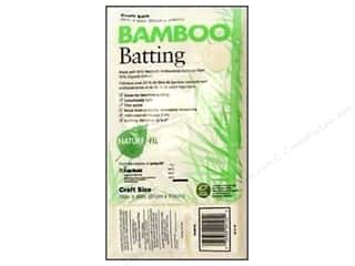 "Bamboo batting: Fairfield Batting Nature Fil Bamboo 36""x 45"""