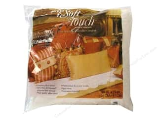 "Pillow Shams Pillow Forms: Fairfield Pillow Form Soft Touch Poly Fill Supreme 24"" Square"
