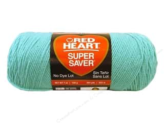 Yarn & Needlework Red Heart Super Saver Yarn: Red Heart Super Saver Yarn #0505 Aruba Sea 7 oz.