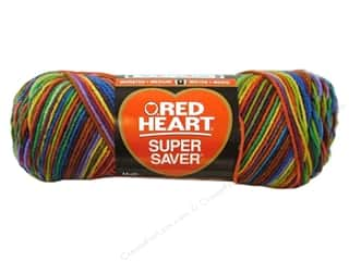 Red Heart Super Saver Yarn #0964 Primary 5 oz.