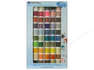 Coats & Clark Length: Coats & Clark Dual Duty XP All Purpose Thread Assorted Pack 50 pc.