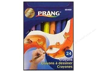 Stenciling Back to School: Dixon Prang Crayons 24 Color Box