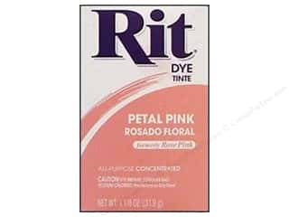 Rit Dye Powder: Rit Dye Powder 1 1/8 oz Petal Pink