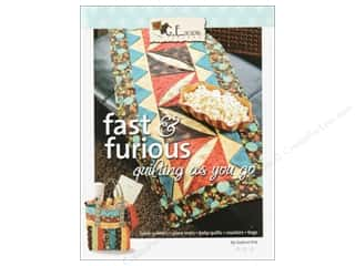 G.E. Designs Clearance Patterns: GE Designs Fast & Furious Quilting As You Go Book