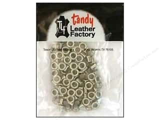 "Leather Factory Eyelet 3/16"" Nickel 100pc"