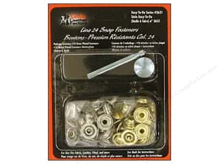 Leather Factory Kit Snap Fasteners Line 24 Astd