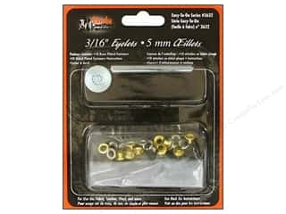 "Leather Factory Kit Eyelets 3/16"" 20pc Astd"