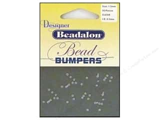 Beadalon Bead Bumpers 1.5mm Clear 50pc