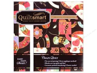 Irons Iron On Designs: QuiltSmart Interfacing Pack Crazy Quilt Snuggler