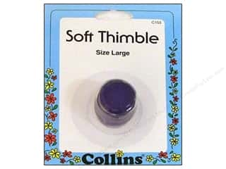 Collins Thimble Soft Size Large Purple