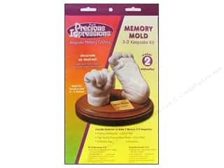 2013 Crafties - Best Adhesive: Precious Impressions Keepsake Kit Memory Mold
