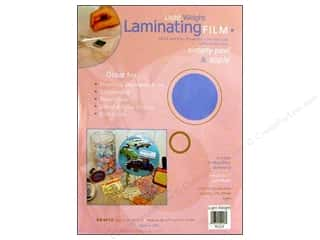 Grafix Laminating Film Pkg  9x12&quot; Light Weight 4pc