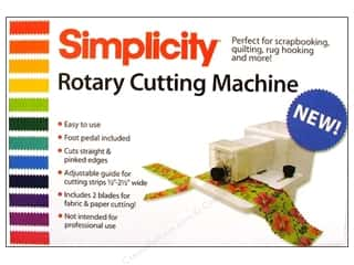 Scissors 1/4 in: Simplicity Rotary Cutting Machine Electric