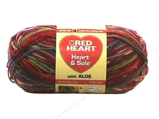 Hearts: Red Heart Heart & Sole Yarn  #3931 Berry Bliss