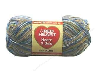 Unique Yarn & Needlework: Red Heart Heart & Sole Yarn  #3970 Faded Jeans