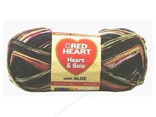wool yarn: Red Heart Heart & Sole Yarn  #3972 Black Jack