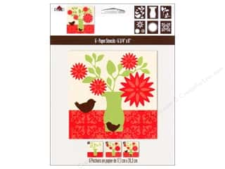 Clearance Plaid Paper Stencils: Plaid Paper Stencils 6.75&quot;x 8&quot; Vase Silhouette