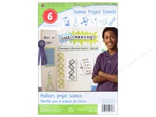 "Plaid Paper Stencils 8""x 10"" Kids Science"