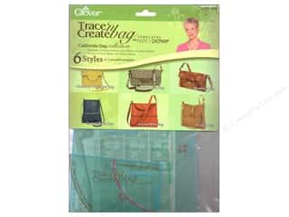 Clover Template TraceNCreate Zieman Bag California