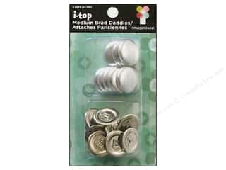 Imaginisce i-top Daddies Shell 22mm Brad 8pc