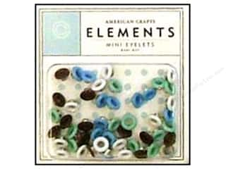 American Crafts Eyelets Elements Mini 48pc BabyBoy