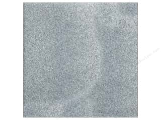 American Crafts Cardstock 12x12 Glitter Silver (15 sheets)