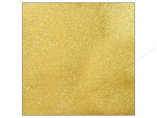 Caron 12 x 12: American Crafts 12 x 12 in. Cardstock Glitter Gold (15 sheets)