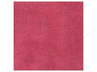 American Crafts 12 x 12 in. Cardstock Glitter Raspberry (15 sheets)