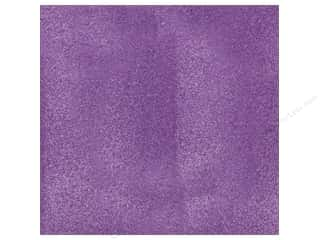 Scrapbooking & Paper Crafts: American Crafts 12 x 12 in. Cardstock Glitter Grape (15 sheets)