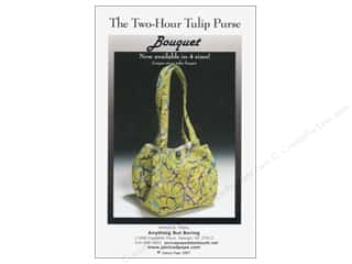 Books & Patterns: Anything But Boring The Two Hour Tulip Purse Pattern
