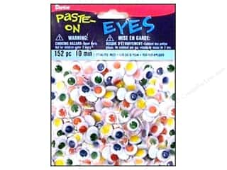 Darice Eyes Paste On Moveable 10mm Multi 152pc