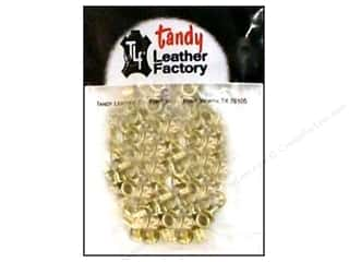 "Leather Factory Leather Factory Hardware: Leather Factory Hardware Eyelet 3/16"" Brass 100pc"