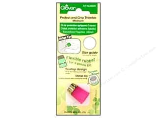 Finger Protector/Thimbles: Clover Thimble Protect & Grip Medium