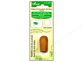 Finger Protector/Thimbles: Clover Thimble Natural Fit Small
