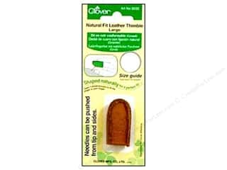 Clover Thimble Natural Fit Large