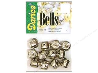 Darice Bells Jingle 15mm Silver 12pc