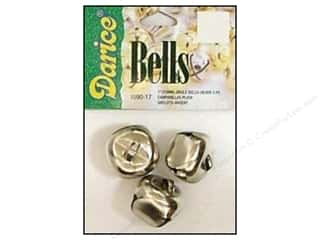 Darice Bells Jingle 25mm Silver 3pc