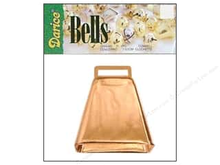 Darice Bells Cow Bell 3&quot; Copper 1pc