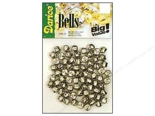 Darice Bells Jingle 9mm Silver 72pc