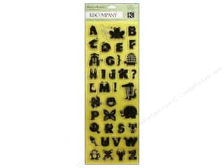 Anniversary Dollar Sale Stamps: K&Co Clear Stamps Actopus To Zelephant Alphabet