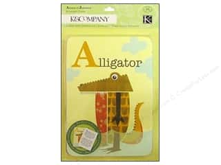 K & Company Designer Papers & Cardstock: K&Company Cards Actopus To Zelephant Animal Alphabet