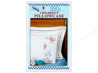 Stamps Children: Jack Dempsey Children's Pillowcase Fish at Play