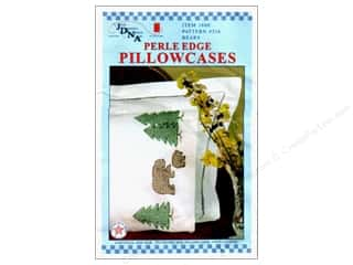 Jack Dempsey Jack Dempsey Pillowcase Lace Edge White: Jack Dempsey Pillowcase Perle Edge White Bears