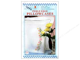Jack Dempsey Pillowcase Perle Circle of Flowers
