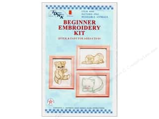 Jack Dempsey Beginner Embroidery Kit Huggable