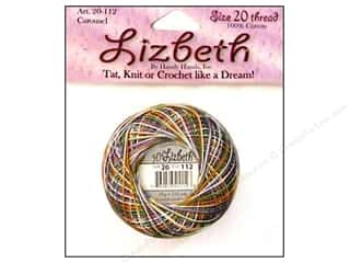Tatting Accessories Tatting Thread: Lizbeth Thread Size 20  #112 Carousel