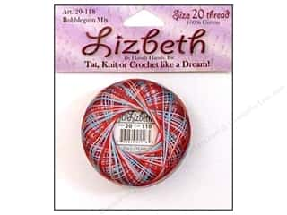 Lizbeth Thread Size 20  #118 BubbleGum Mix